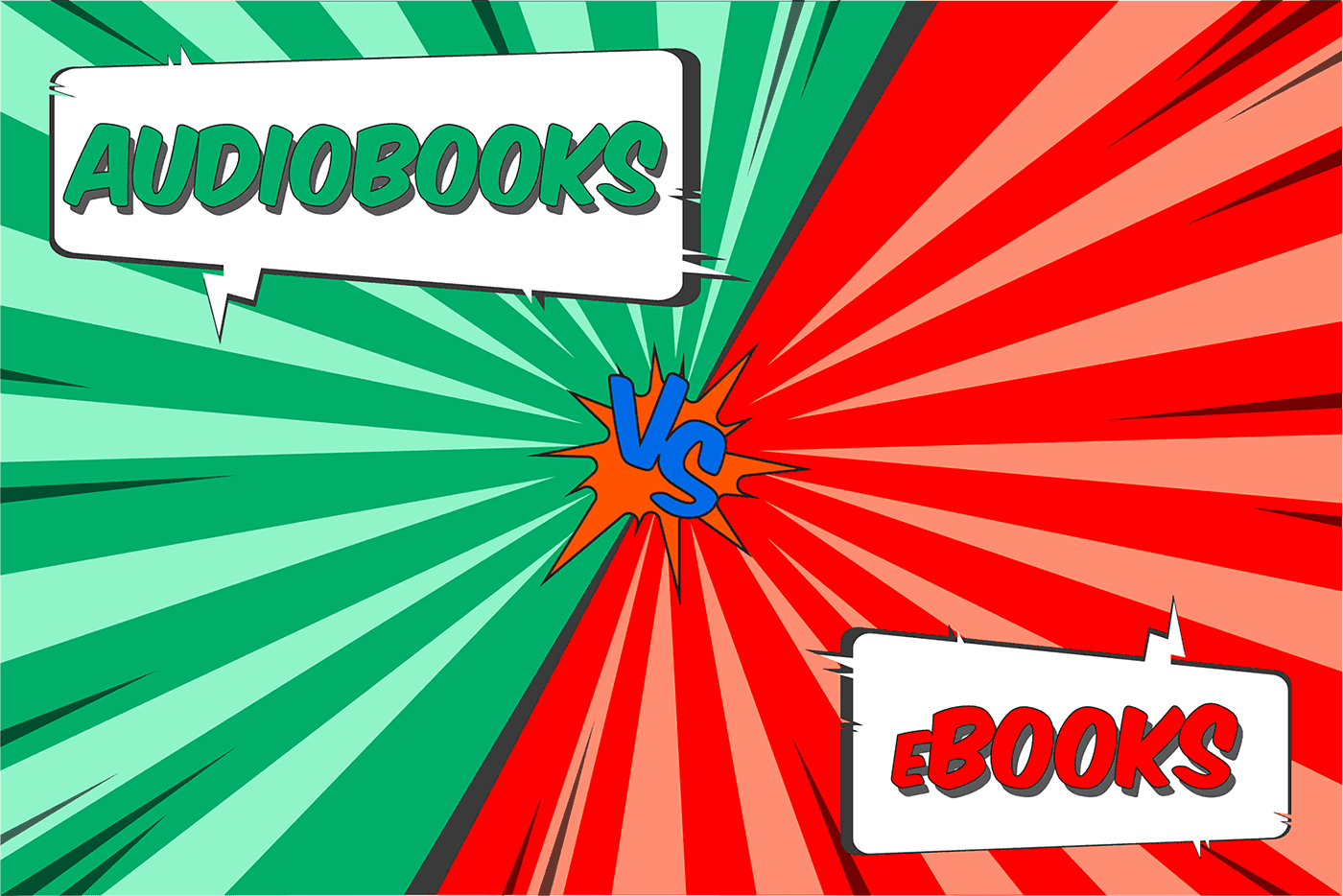 Audiobooks vs eBooks