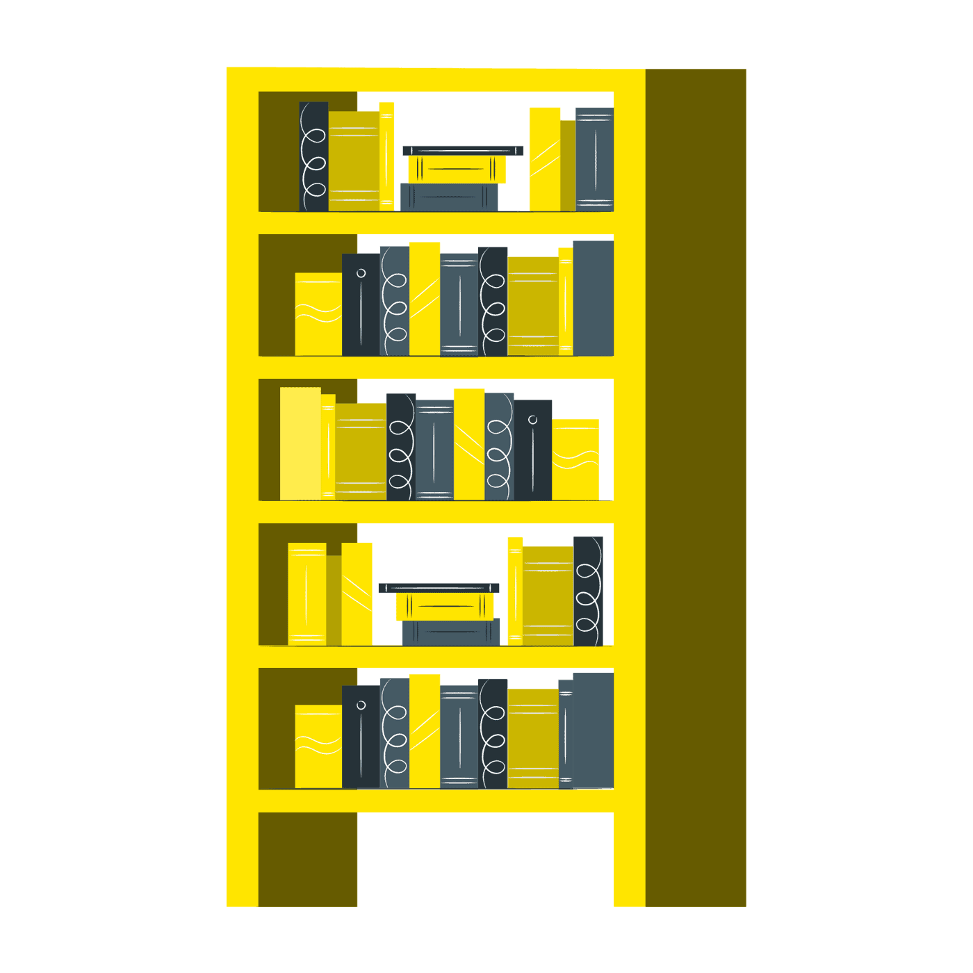 How to prevent books from turning yellow?
